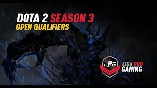 Final LPG Open Qualifier #1 Dota 2 Season 3  | Cast by Rada