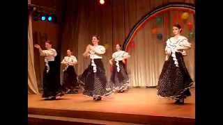 SPANISH LESSONS 6  ( УРОКИ ИСПАНСКИХ ТАНЦЕВ) 2010