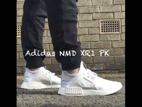 adidas NMD XR1 Primeknit Vintage White For Sale Koming doo