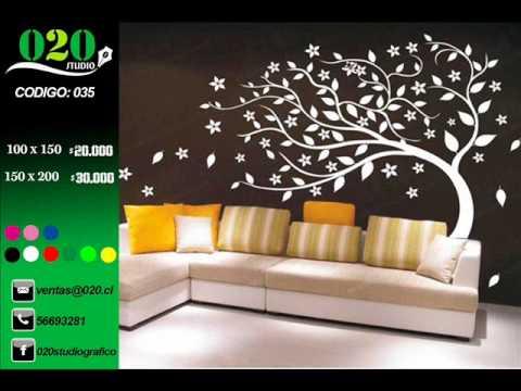020 studio catalogo vinilos decorativos arbol youtube - Vinilos de arboles ...