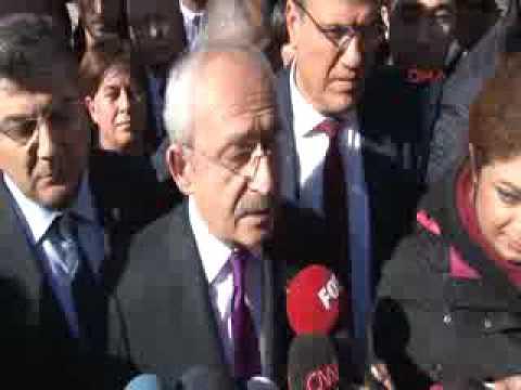 Kemal Kılıçdaroğlu Aladağ' da