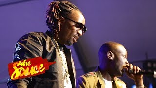 King Kaka and Kristoff gift fans copies of Eastlando Royalty and a gold chain | The Sauce