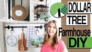 DIY Dollar Tree Room Decor 🌟  Farmhouse Wall Decor