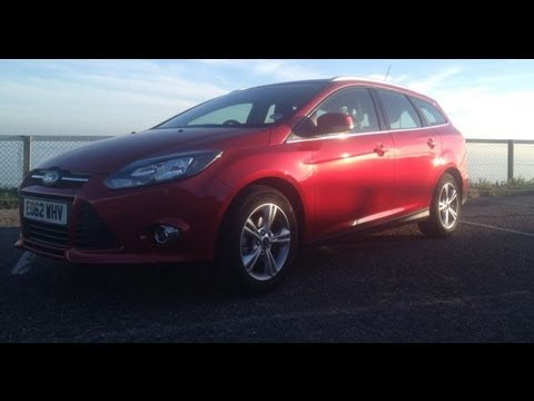 2013 Ford Focus 1.0 litre EcoBoost Estate Zetec Review: Inside Lane