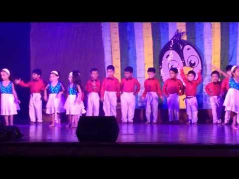 Shrey & Saanvi @ Annual function - Little learner Academy