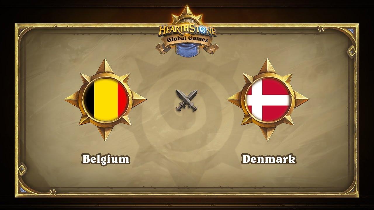 Бельгия vs Дания | Belgium vs Denmark | Hearthstone Global Games (17.05.2017)