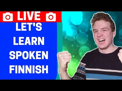 🔴 Learning Spoken Finnish for Beginners #1 - Useful Phrases You Can Use
