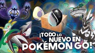 ¡TODO lo NUEVO de 5 GENERACIÓN!  HUEVOS, REGIONALES, RAIDS y más en Pokémon GO! [Keibron]