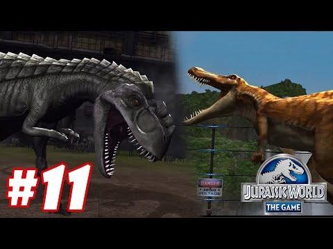 Gogosaurus vs Suchomimus : Trò chơi nuôi khủng long đánh nhau - Jurassic World The Game #8