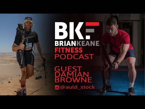 BKF PODCAST - #122: Rowing a Boat 4800km Across The Atlantic Ocean with Damian Browne