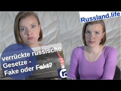 Verrückte russische Gesetze - Fake oder Fakt?