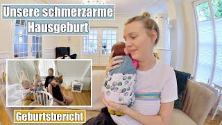 Meine Hausgeburt 💙 Geburtsbericht | Schmerzarm mit Hypnobirthing | Isabeau