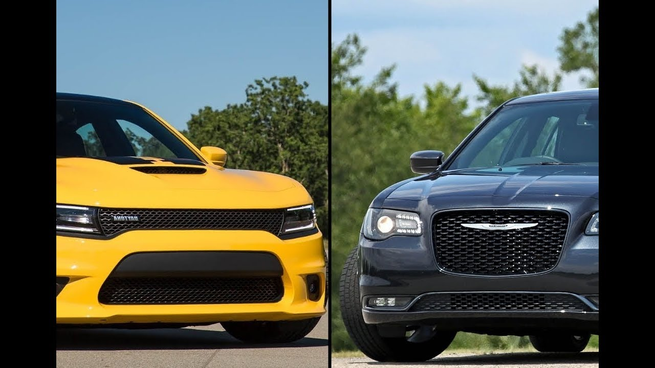 2018 Dodge Charger Vs 2017 Chrysler 300
