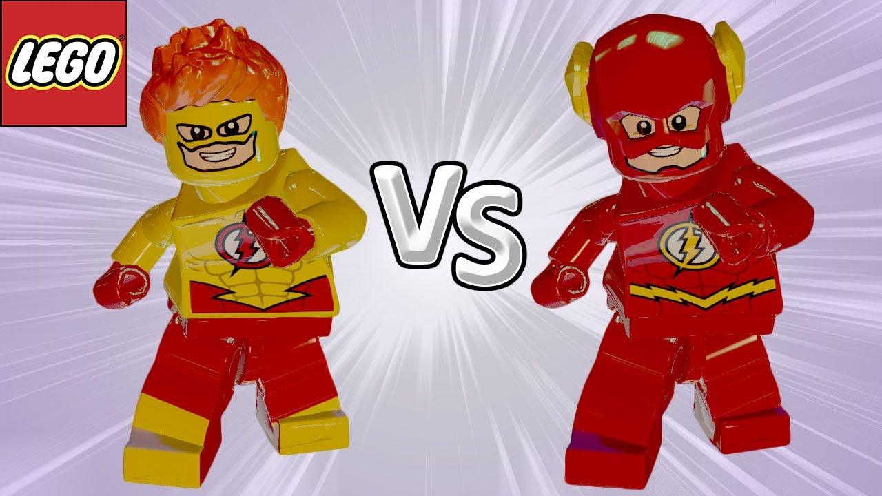 Kid Flash Vs Flash Lego Batman 3 Briga De Herois 62 Youtube