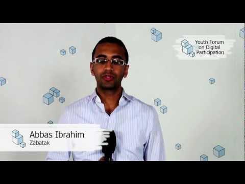 Introducing Zabatak - Abbas Ibrahim | Youth Forum on Digital Participation