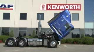 How to tilt a Kenworth K200 cabin
