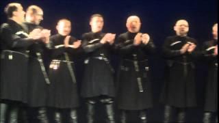 Gruzijos nr126 choras IBERI 2014 04 04 Panevėžio Muzikiniame teatre