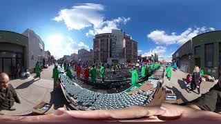 360 Video Ricoh Theta V - Vernon Blvd R0011346