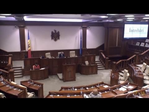 Şedinţa Parlamentului Republicii Moldova 11.05.2018