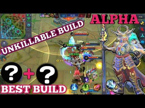 ALPHA BEST BUILD   ALPHA HERO GUIDE   ALPHA MOBILE LEGENDS