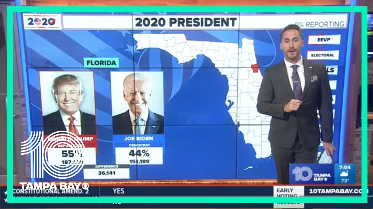 ELECTION 2020: Live coverage of the presidential election; Florida and Tampa Bay area results