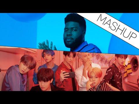 Khalid X BTS 방탄소년단 - Talk X Home (suzaken Mashup)