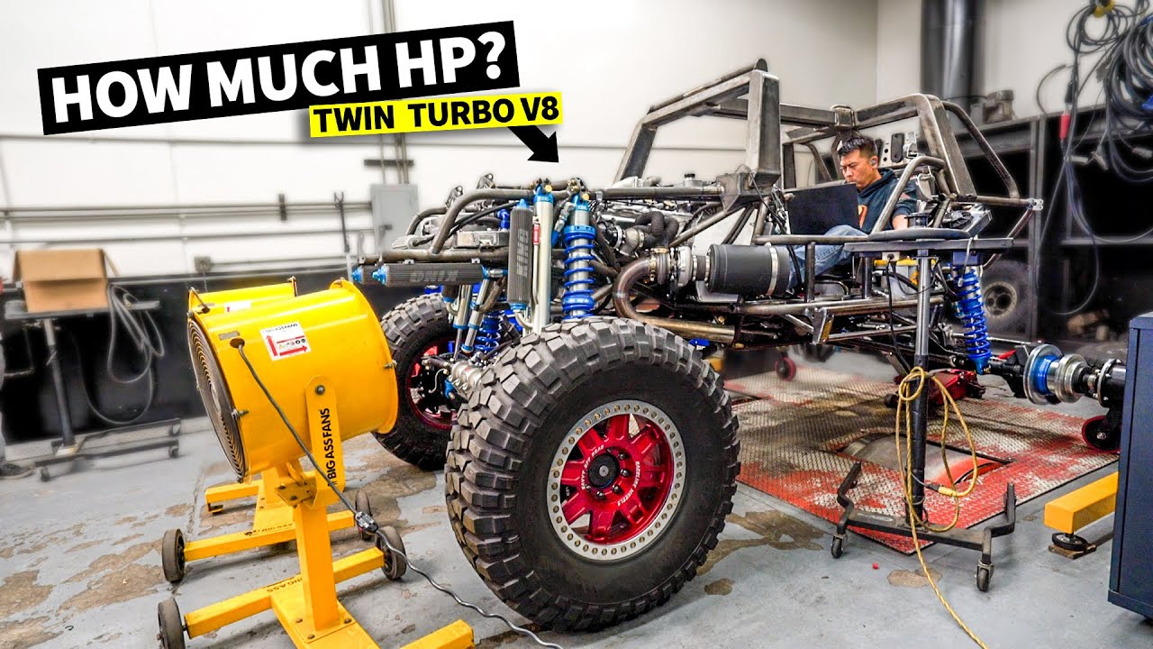 Download World's most powerful Halo WARTHOG! Dyno Day for our 1,000hp Twin Turbo V8 video game war machine!