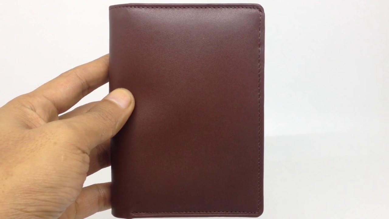 Dompet Kulit 3 Dimensi 4 Polos Coklat100 Asli Garut Tr086 Pria 100