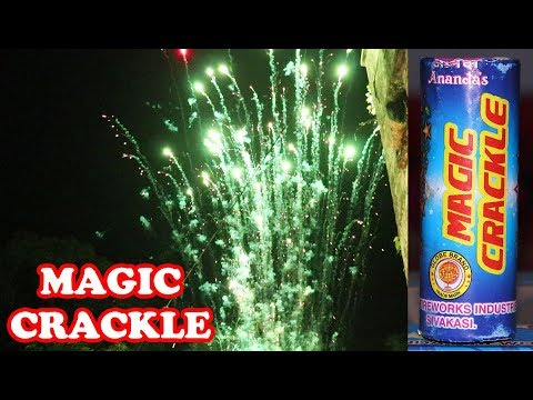 Magic Crackle from Ananda Fireworks - Crackling Shots