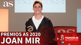 Premios AS 2020 | Joan Mir, Premio AS del Deporte 2020,