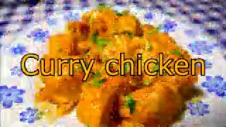 YUMMY AND QUICK RECIPES ( CURRY CHICKEN ) MAKE AT HOME