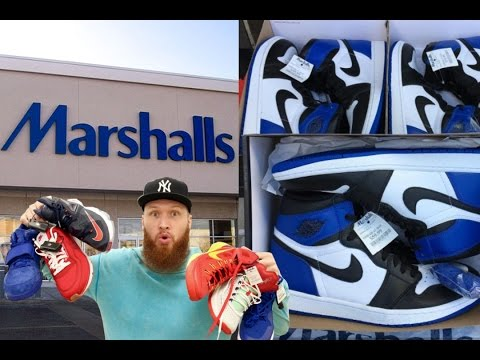 SEARCHING for LIMITED SNEAKERS at MARSHALLS!