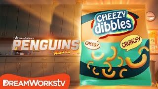 Cheezy Dibbles In Real Life | PENGUINS OF MADAGASCAR
