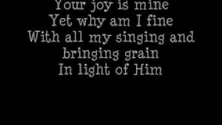 Shane&Shane - Yearn with lyrics