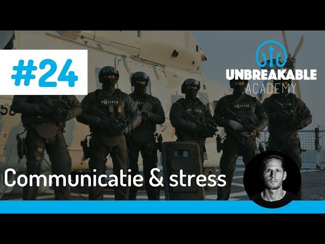 Hoe je communiceert onder stressvolle omstandigheden.