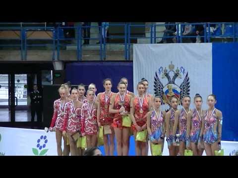 Ceremony Teams Grand Prix Moscow RG 2015 All around
