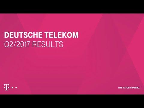 Social Media Post: Deutsche Telekom's Q2-2017 investor conference call