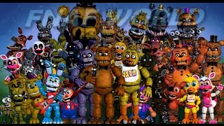 BONNIE AND FOXY REACT TO: FNAF World Image Transformation