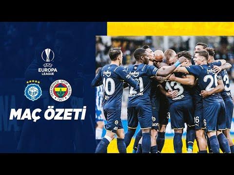 MAÇ ÖZETİ: HJK Helsinki 2-5 Fenerbahçe