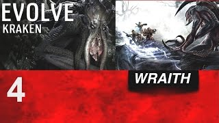 EVOLVE- WRAITH and KRAKEN MONSTER GAME PLAY (XBOX ONE/PS4/PC)
