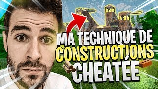 NEW TECHNIQUE OF CHEAT CONSTRUCTIONS - Fortnite Battle Royale Skyyart