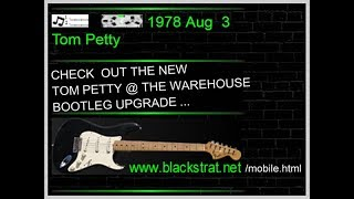 TOM  PETTY  @  THE  WAREHOUSE  -  NEW ORLEANS   Aug. 3, 1978