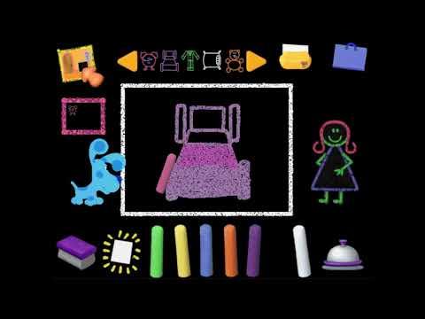 Chalk Time! | Blue's Art Time Activities (Part 8)