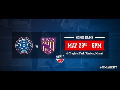 FC Miami City vs SIMA Aguilas