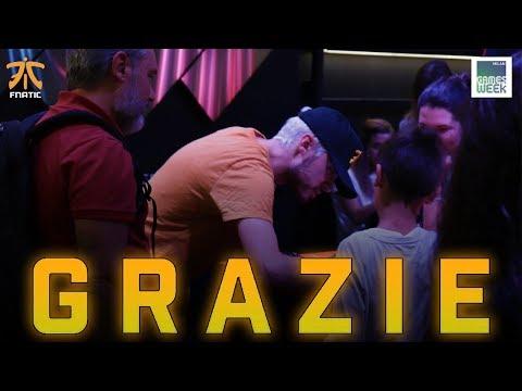 GRAZIE A TUTTI! MILAN GAMES WEEK 2018