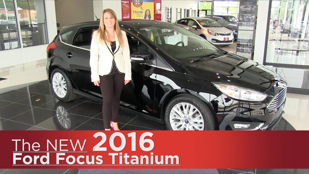 The New 2016 Ford Focus Anium Elk River Rapids Minneapolis St Paul Cloud Mn Specs