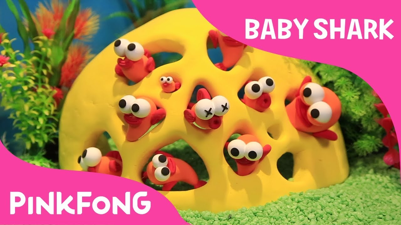 How To Make Clay Fish Pinkfong Clay Baby Shark