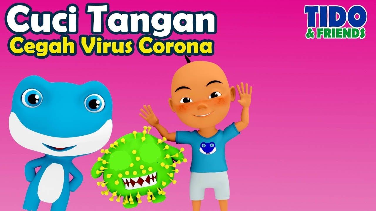 Cuci Tangan Cegah Corona Gejala Tanda Covid 19 Anak Paud Tk Upin Ipin Tidofriends Youtube