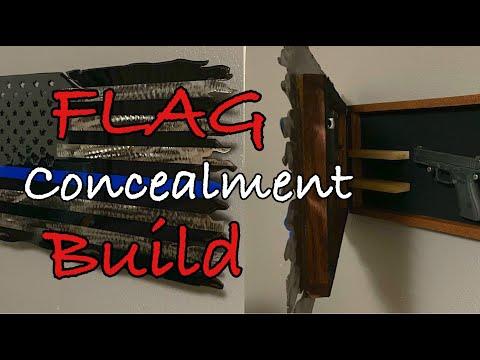 Concealed Gun Flag Box Build: Entire Build!!