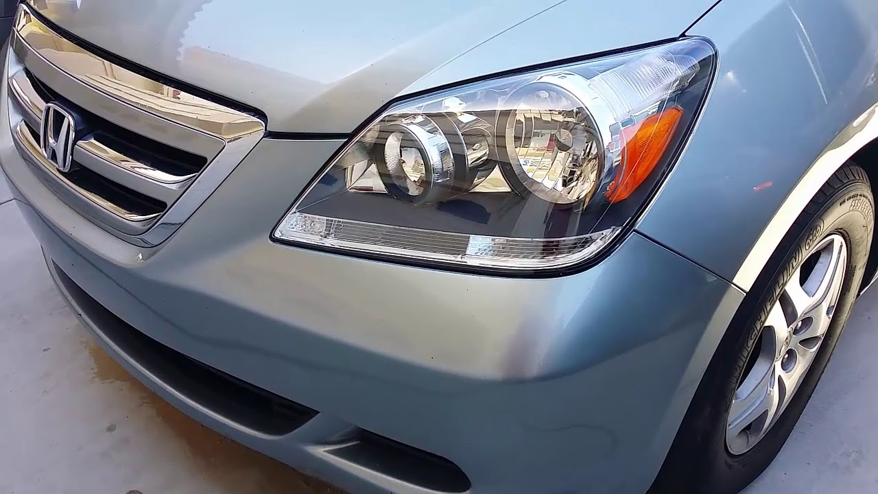 Honda Odyssey Headlight Lens Replacement Cosmetic Difference
